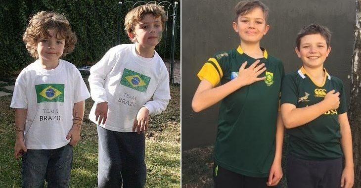 Como estão os sul-africanos que cantavam o hino do Brasil em 2010?