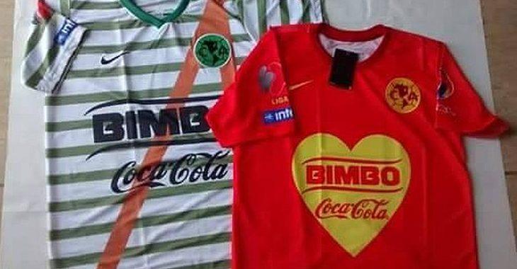 Os mockups das camisas de futebol de Chaves e Chapolin viraram… camisas