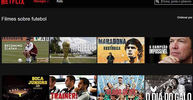 9 filmes de futebol disponíveis no Netflix