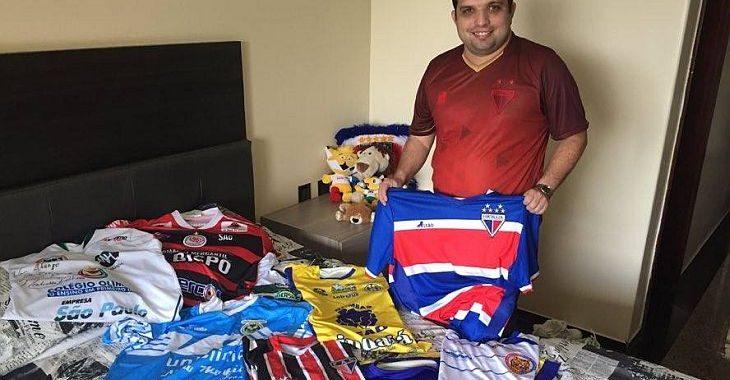 Colecionador constata: comprar todas as camisas do Campeonato Cearense é dureza