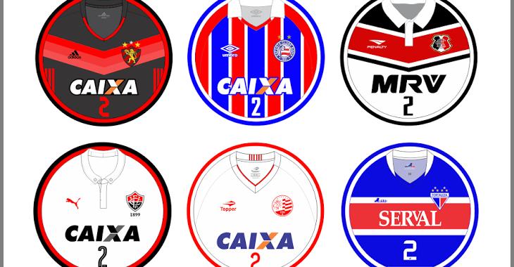 Site disponibiliza artes de futebol de botão dos times do Nordestão 2017