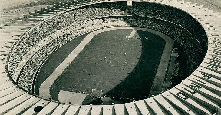 Site do IBGE reúne fotos antigas de estádios do Brasil