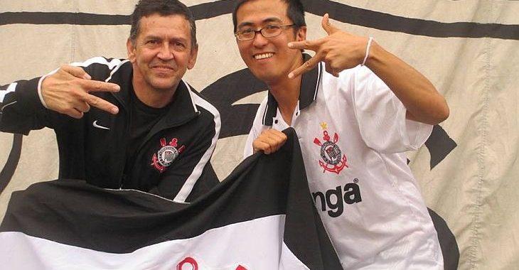Japonês larga tudo e se muda para o Brasil por causa do Corinthians