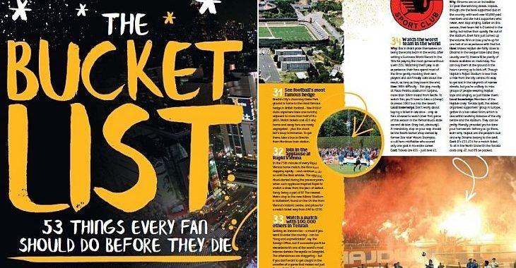 Revista inglesa aponta Íbis como uma das 53 coisas para ver antes de morrer