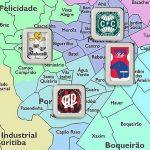Fizemos um tour pelos quatro clubes de Curitiba (Arte: Verminosos por Futebol)