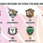 A Champions LiGay é organizada pela LiGay Nacional de Futebol (Foto: Reprodução)