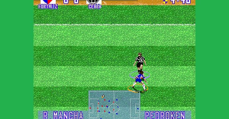 Copas do Nordeste e Verde ganham versão do game Superstar Soccer Deluxe