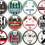 O Campeonato Brasileiro de 1993 reuniu muitas camisas clássicas (Arte: Sandescudos)