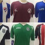 Essas camisas de times paulistas custarão R$ 29,99 cada (Arte: Verminosos por Futebol)