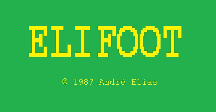 André Elias fala do orgulho de criar o Elifoot, game que conquistou uma geração
