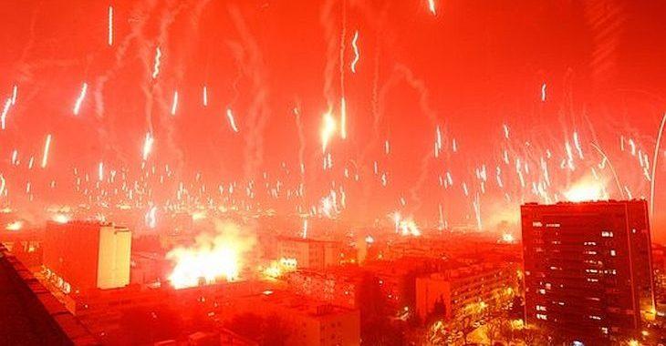 """O dia em que a torcida do Hadjuk Split promoveu um """"Armagedon"""""""