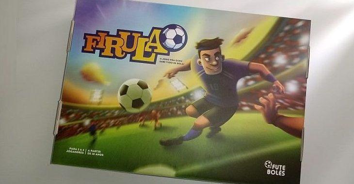 Programa de TV, rádio e internet lança jogo de tabuleiro de futebol para sua promoção