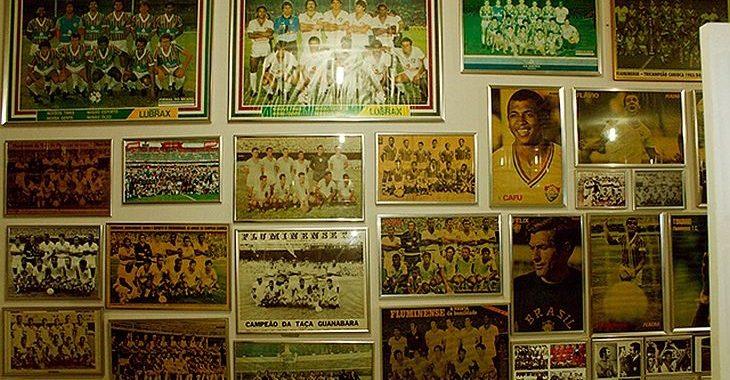 Hotel do interior do Mato Grosso possui um museu temático do Fluminense
