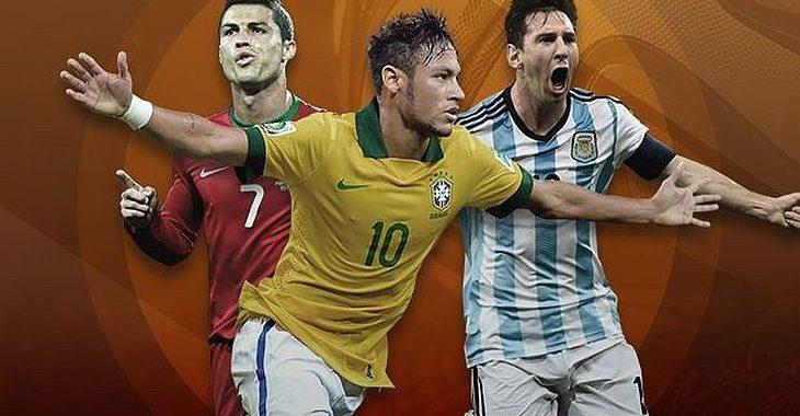 Messi lidera apostas para artilheiro da Copa de 2018; Neymar é 2º, CR7 o 3º
