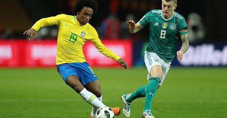 Casas de apostas registram a mesma previsão: Brasil em 1º, Alemanha em 2º e Espanha em 3º