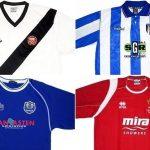 Confira camisas de 22 times da 2ª a 5ª divisões da Inglaterra (Foto: Divulgação)