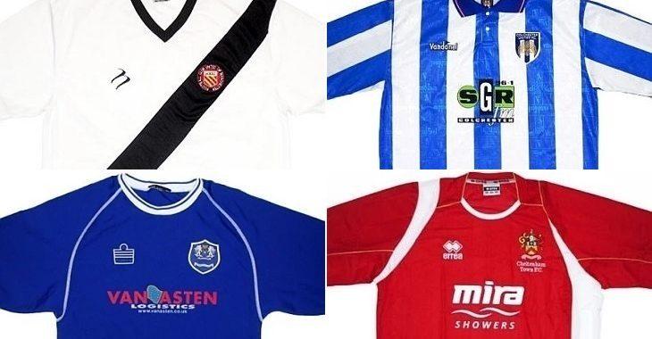 22 camisas de times alternativos da Inglaterra à venda em brechó online