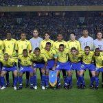A seleção brasileira contou com atletas de oito estados em 2002 (Foto: Fifa.com)