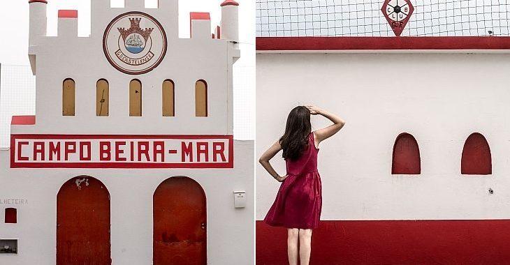 Socióloga mantém perfil de Instagram que registra estádios pequenos de Portugal