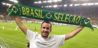 Turista brasileiro fez mochilão de futebol com 75 jogos em 19 países da Europa