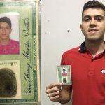 Sávio Flamengo, nascido em Apodi (RN), é jogador de futebol profissional (Foto: Acervo pessoal)
