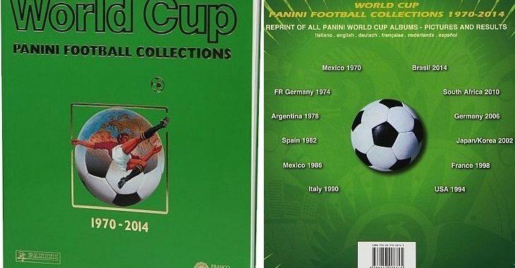 Livro da Panini reúne todos os álbuns de Copas do Mundo a partir de 1970