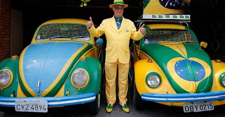 """Promessa do Tetra levou advogado a """"pintar a vida"""" de verde e amarelo até a morte"""