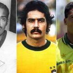 Romário (anos 90), Rivelino (70) e Leônidas (40) inspiraram muitos nomes (Foto: Reprodução)