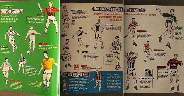 Nos anos 90, mudanças de camisas a cada temporada não eram bem vistas por todos