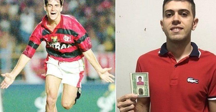 Sávio fica surpreso ao saber de jovem com nome Sávio Flamengo em sua homenagem