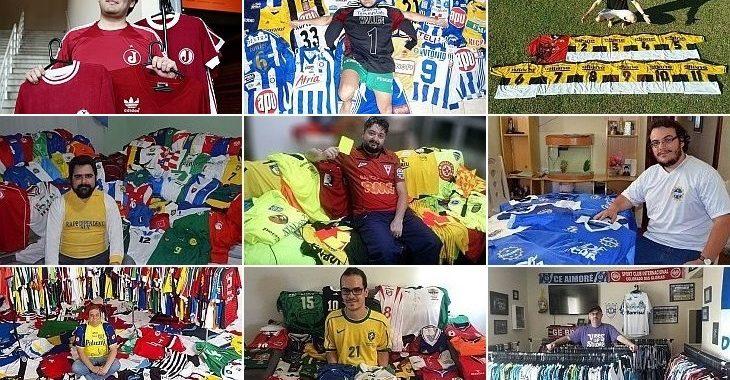 #6AnosDoVerminosos: 30 colecionadores de camisas de futebol que foram tema de matérias