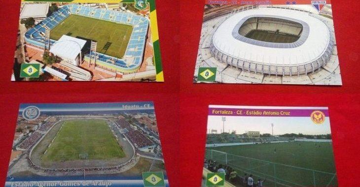 Você gosta de colecionar cartões postais de estádios? Você não está sozinho!
