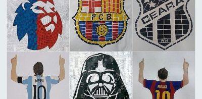 Confere aí as obras de arte com recortes de papel feitas por esse garoto!