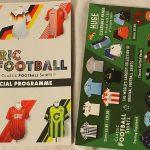 O programa oficial do 1º Fabric of Football conta com 128 páginas (Foto: Divulgação)