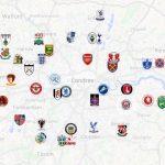 Londres é a cidade do mundo com maior número de clubes e de estádios (Foto: Google)