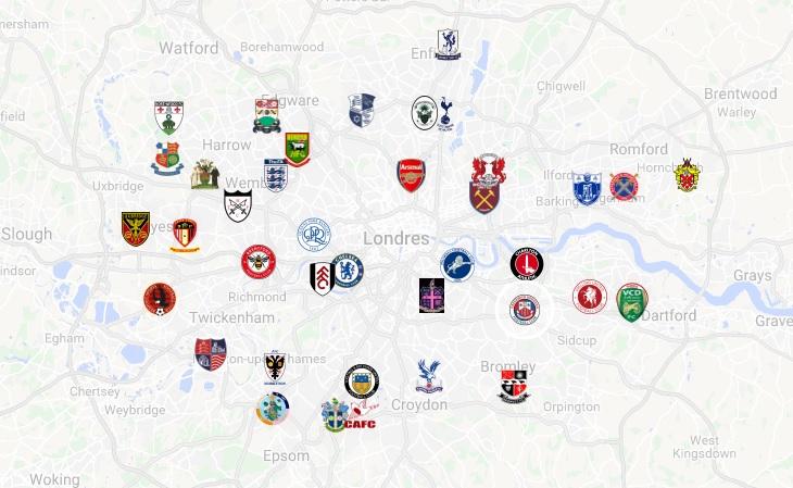 Um guia de turismo com todos os estádios de futebol de Londres