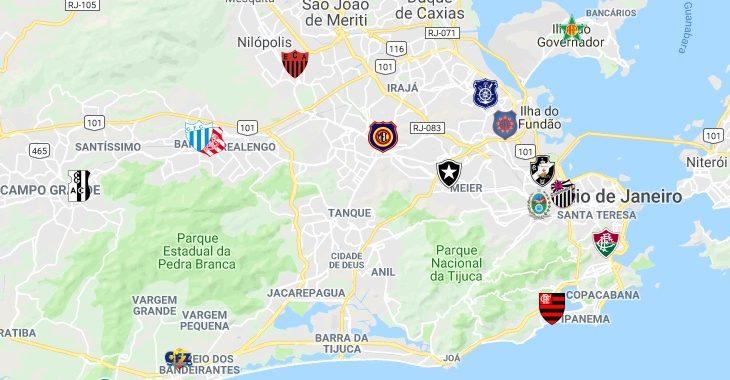Um guia com todos os estádios da cidade do Rio de Janeiro