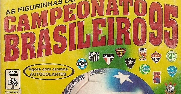 Todas as figurinhas do álbum do Campeonato Brasileiro de 1995