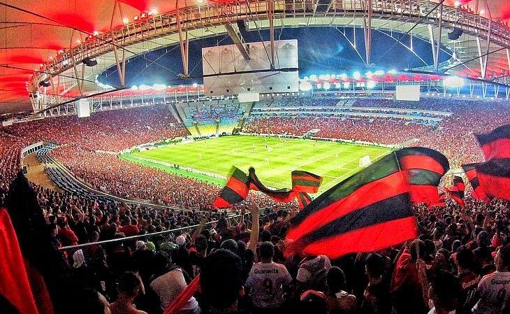 O Fla é o time que mais vezes foi líder de público: em 15 edições (Foto: Torcida Flamengo)