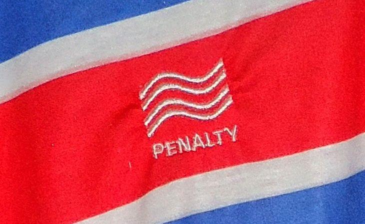 O Fortaleza passou a estampar logomarcas na camisa em 1982 (FOTO: Reprodução)