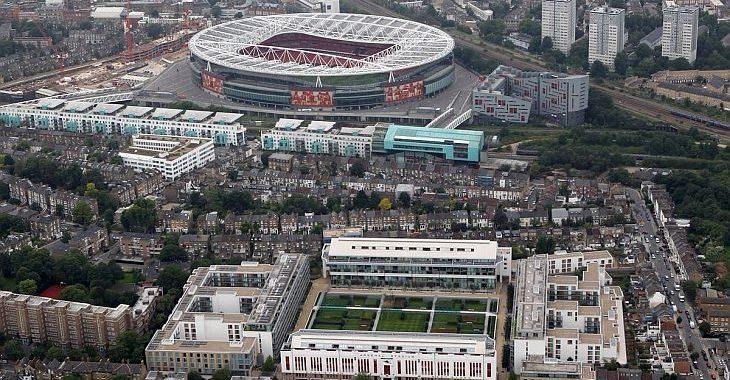 Você sabia? Highbury virou um condomínio residencial usando suas arquibancadas