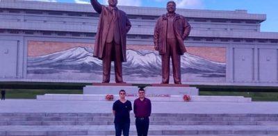 Autor de página sobre o futebol da Coreia do Norte fez viagem ao país a convite do governo