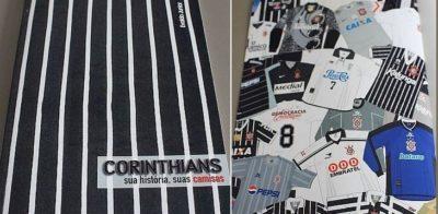 15 curiosidades sobre as camisas do Corinthians em sua história
