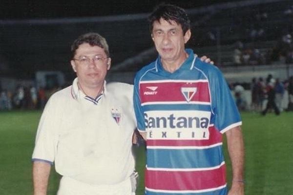 Fagner jogou por 15 minutos um amistoso do Fortaleza em 2002 (Foto: Reprodução)