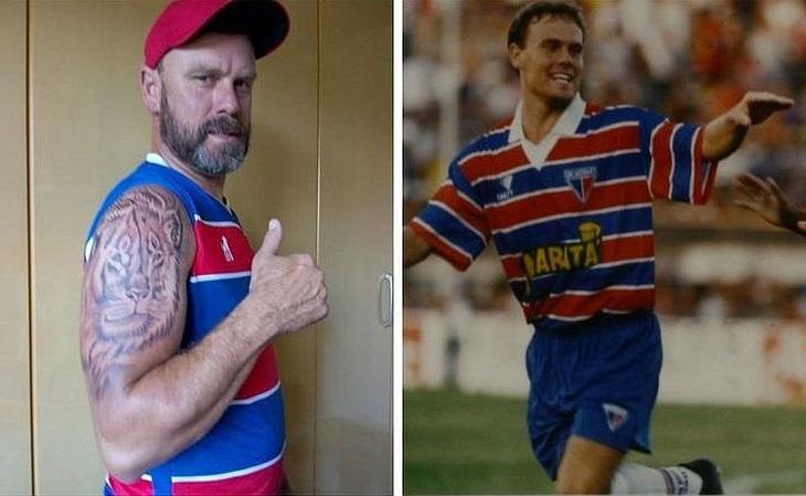 Sandro Preigschadt, o Sandro Gaúcho, hoje tem um leão tatuado (Foto: Acervo pessoal)