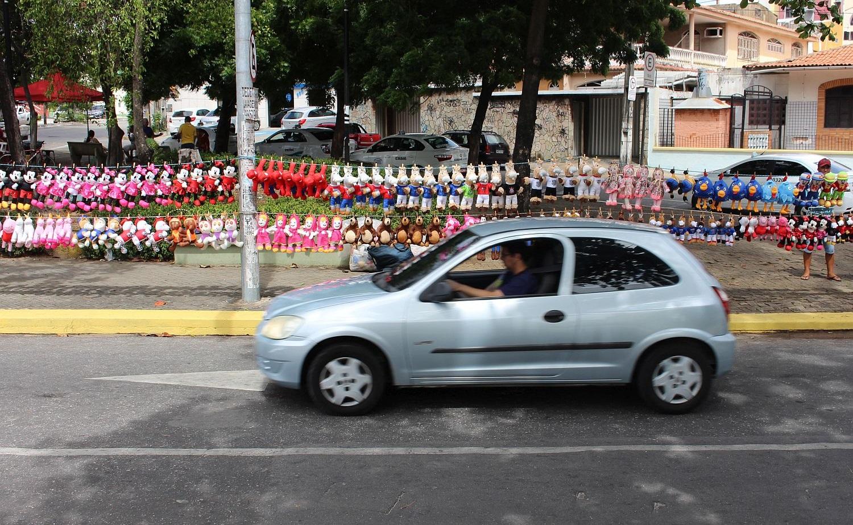 Cavalinhos são sucesso de vendas para família de pernambucanos (Foto: Rafael Luis Azevedo/Verminosos por Futebol)