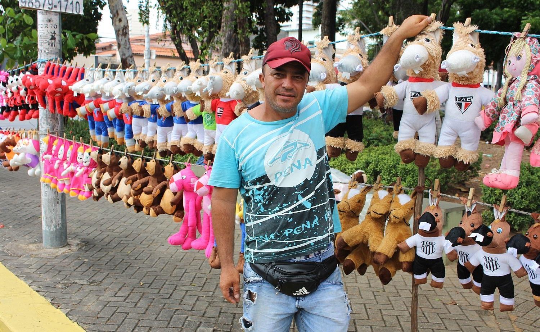 Segundo Cícero, a procura por Ceará e Fortaleza é grande (Foto: Rafael Luis Azevedo/Verminosos por Futebol)