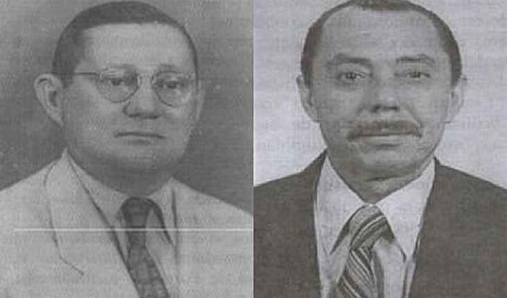 Ananias Frota de Vasconcelos, o alvinegro, e José Girão Frota, o tricolor (Foto: Reprodução)