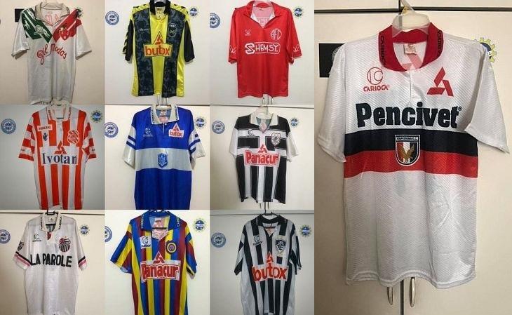 As camisas dos times pequenos do Rio dos anos 90 são muito disputadas (Foto: Acervo pessoal)