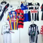 A maioria dos times vestia a marca Carioca, ainda hoje em atividade (Foto: Acervo pessoal)